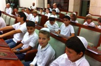 """ילדי בית ספר שקד של קהילת אחוות רעים בסליחות תשע""""ד"""