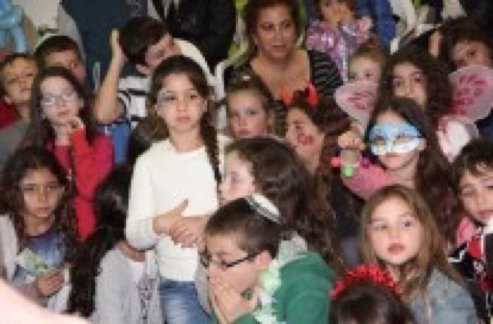 """פורים תשע""""ד, ילדים זה שמחה, ילדים זה ברכה."""
